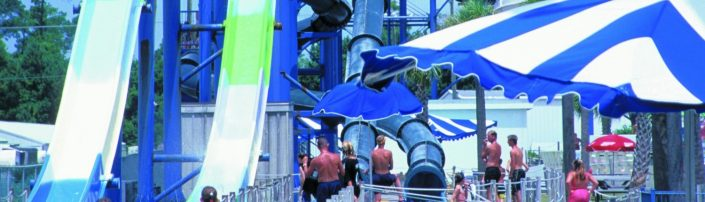 Myrtle Waves Water Park Slide