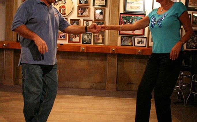 Couple Shag Dancing